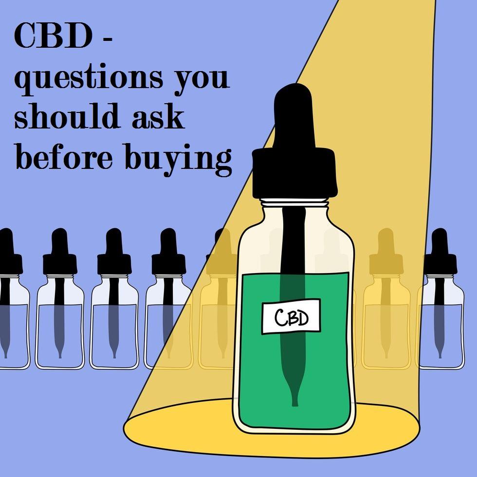 buy CBD oil online questions