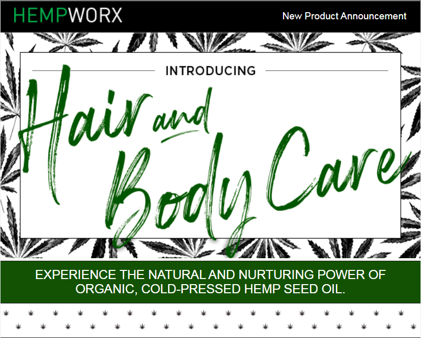 Hempworx Hair and Body Care